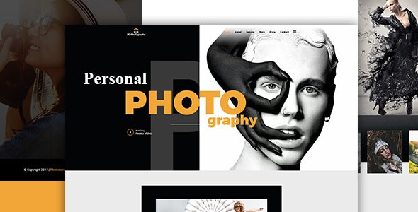 BDphotography | Photography Onepage Template - Creative Site Templates