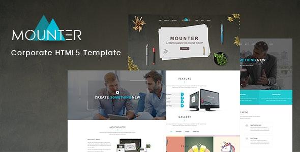 Mounter – Corporate HTML Template - Business Corporate
