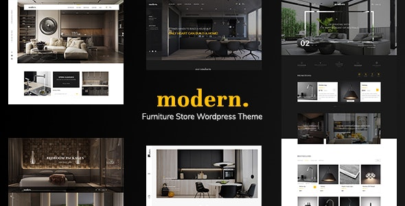 Modern - Ecommerce PSD Template - Retail Photoshop