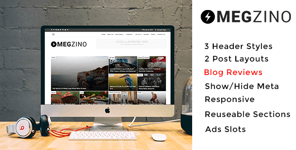 Magzino - Review, Blog and Magazine WordPress Theme - News / Editorial Blog / Magazine