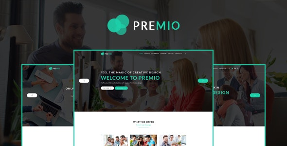 Premio  Creative Business WordPress Theme - Corporate WordPress