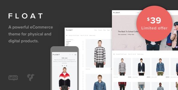 Float - Minimalist eCommerce Theme - WooCommerce eCommerce