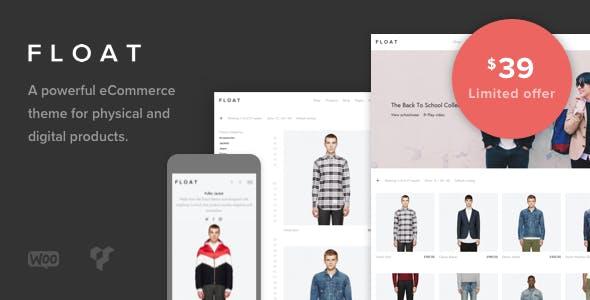Float - Minimalist eCommerce Theme