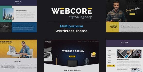 Webcore - Portfolio and Agency WordPress Theme - Portfolio Creative