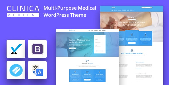 CLINICAWP - Medical WordPress Theme - Health & Beauty Retail