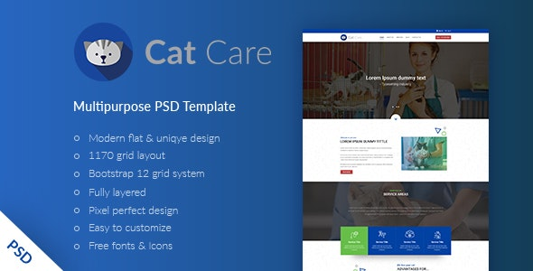 The Catecare PSD Template - Miscellaneous Photoshop