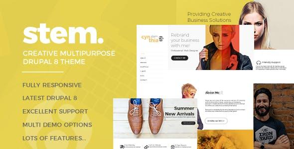 Stem Responsive Multipurpose Drupal 8.5 Theme