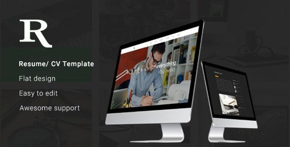 Rj - Personal Portfolio & Blog PSD Template - Portfolio Creative