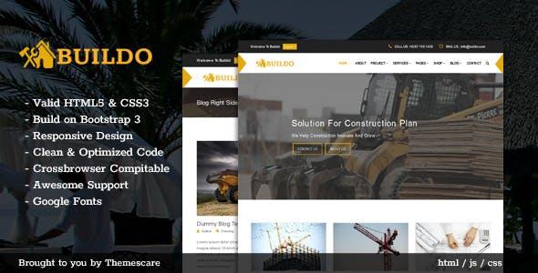 Buildo - Construction & Building HTML5 Template