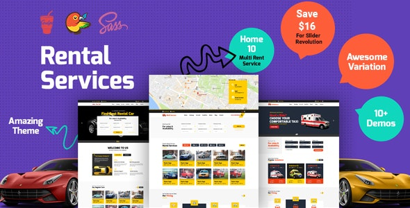 CarRent - Multipurpose Car Rental And Hire HTML Template - Business Corporate