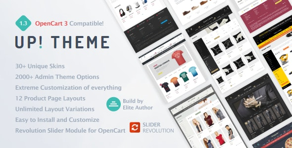 UP! - Multi-Purpose Responsive OpenCart 3 Theme by 321cart