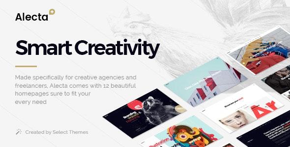 Alecta - Creative Agency Theme - Portfolio Creative