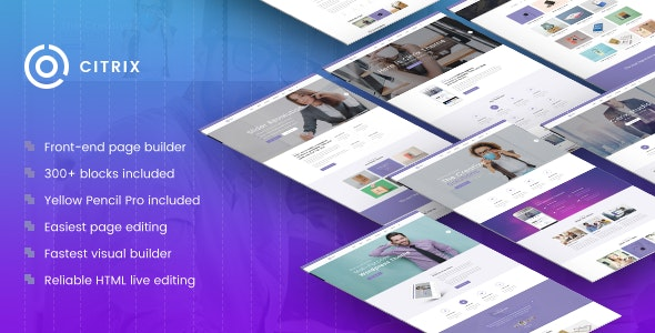Citrix - Business WordPress Theme - Business Corporate