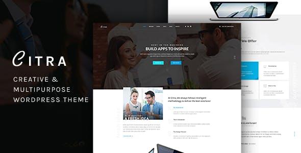 Citra - Finance WordPress Theme