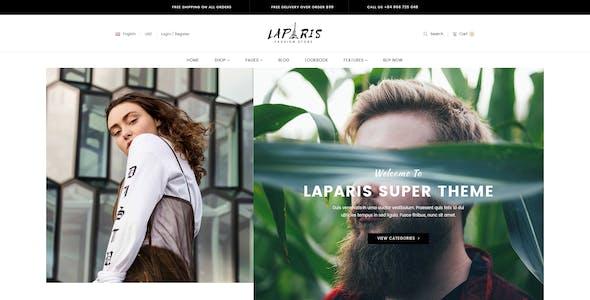 LaParis - Simple Creative Responsive Opencart Theme
