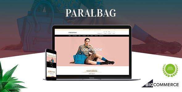 Paralbag - Parallax BigCommerce Bag Store Theme
