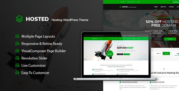 Hosted - WordPress Hosting Theme + WHMCS - Hosting Technology