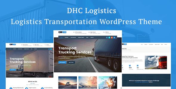 DHC | Logistics Transportation WordPress Theme - Business Corporate