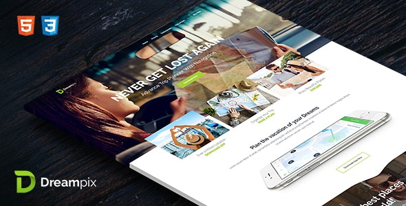 Dreampix - HTML Template - Landing Pages Marketing