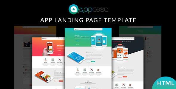 Appcase App Landing Page
