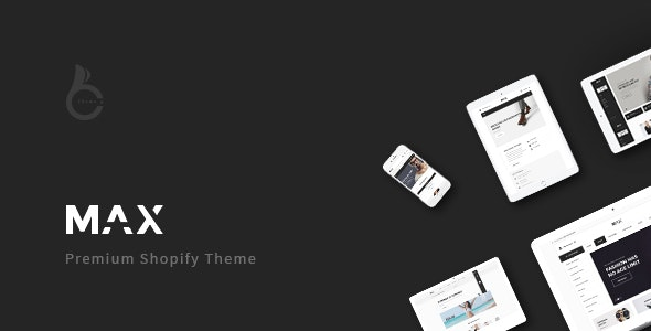 Max - Multi-purpose Shopify Theme - Shopify eCommerce