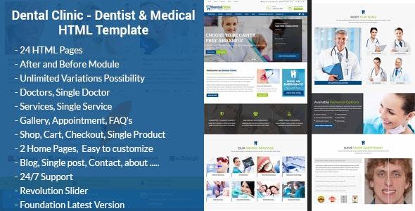 DentBox - Dentist & Medical HTML Template - Health & Beauty Retail