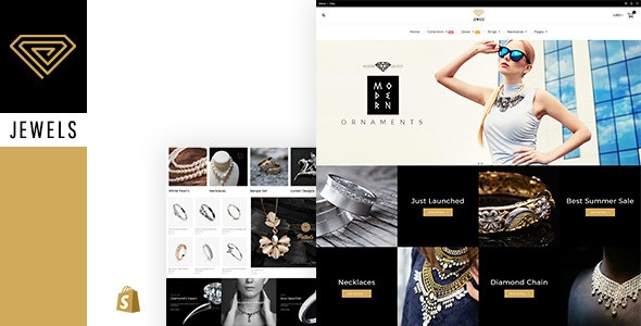 Jewelry Shopify Theme - Shopping Shopify