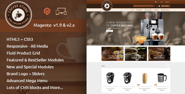 Coffee - Responsive Magento 2 Theme - Miscellaneous Magento