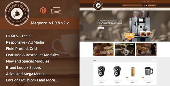Coffee - Responsive Magento 2 Theme