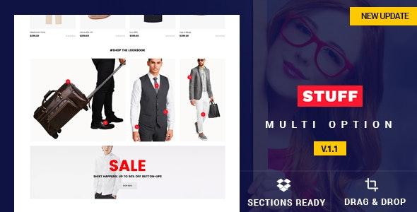 Stuff - Responsive Shopify Theme - Shopify eCommerce