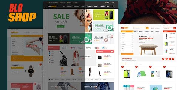 Bloshop - eCommerce Responsive HTML Template - Retail Site Templates