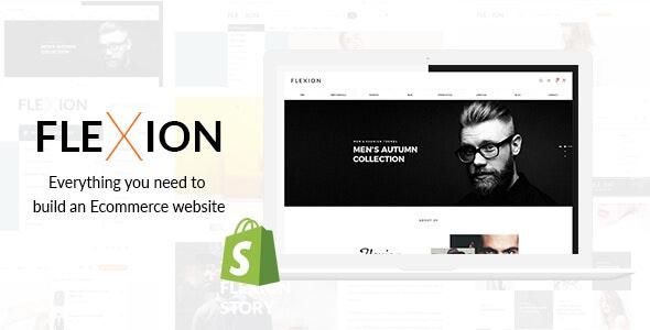 Flexion - Creative Fashion Store Responsive Shopify Theme - Fashion Shopify