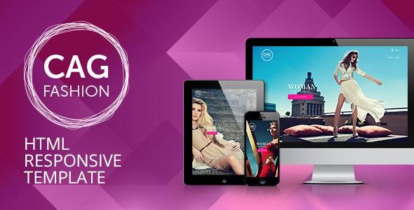 CAG Fashion & Store - Responsive HTML Template - Fashion Retail