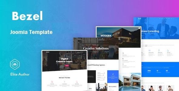 Bezel - Creative Multi-Purpose Joomla Template - Creative Joomla