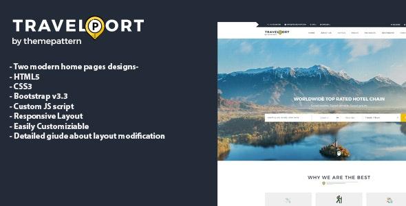 Travel HTML5 responsive template - Travel Retail