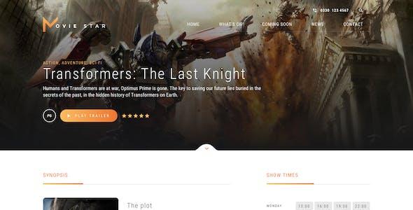 Movie Star - Cinema HTML template