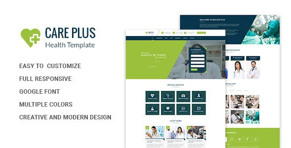 Health CarePlus - Medical Html Template