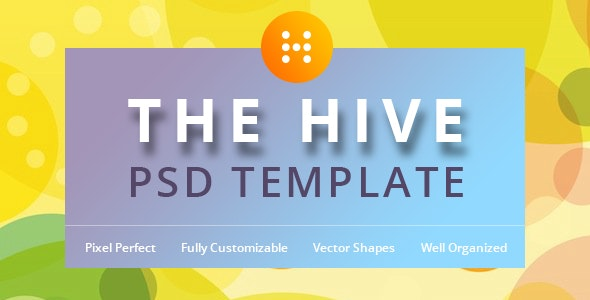 The Hive PSD Template - Events Entertainment