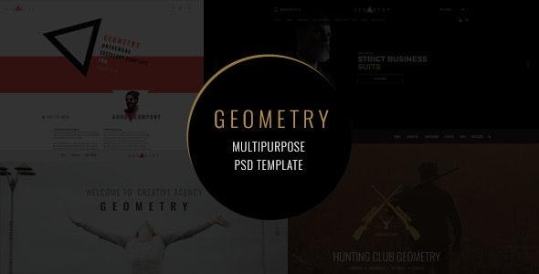 Geometry — Multipurpose PSD Template - Creative Photoshop
