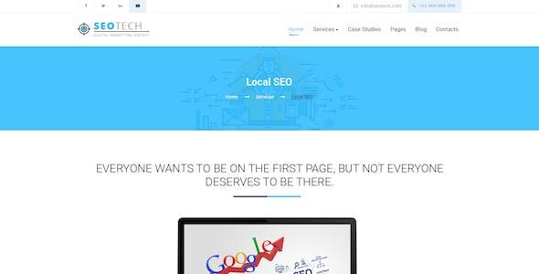 SEOTECH - SEO / Digital Marketing PSD Template