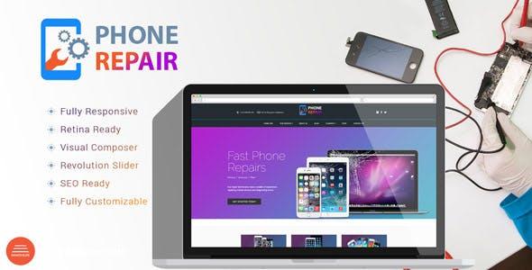 PhoneRepair - Mobile Device Shop WordPress Theme