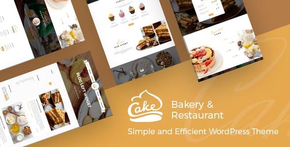Cake - Easy Slight Bakery & Backing Theme