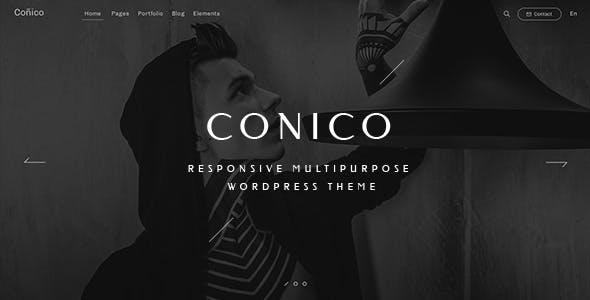 Conico — Responsive Multipurpose WordPress Theme