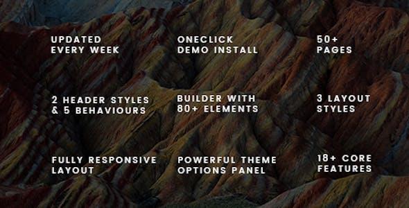 Nexx - Multi Purpose Business WordPress Theme