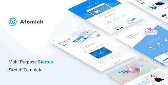 Atomlab - Multi-Purpose Startup Sketch Template