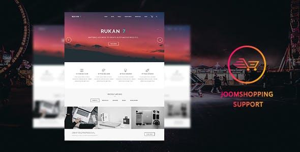 Rukan7 - JoomShopping Multipurpose Template