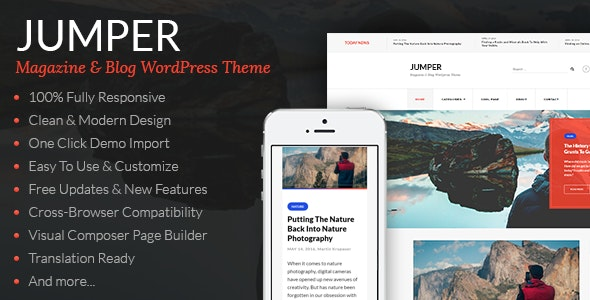 Jumper - Magazine & Blog WordPress Theme - Blog / Magazine WordPress