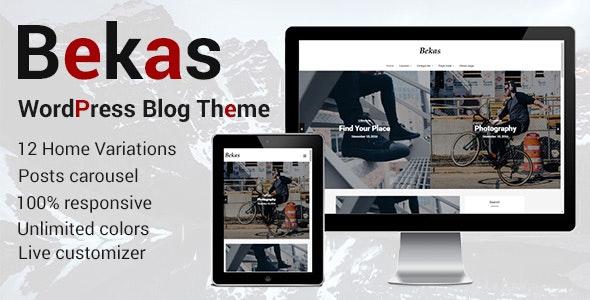 Bekas - Responsive WordPress Blog Theme - Personal Blog / Magazine