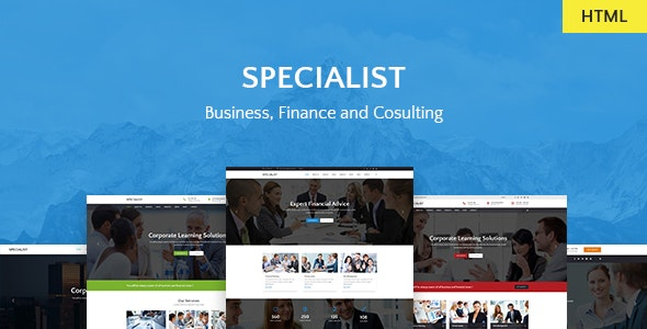 Specialist | Multipurpose Business & Financial, Consulting, Accounting, Broker HTML Templates - Business Corporate