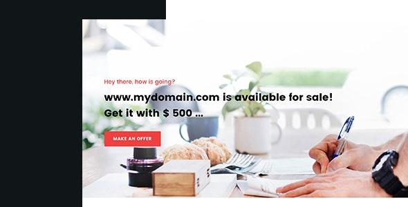 Soune - Domain For Sale Template - Business Corporate